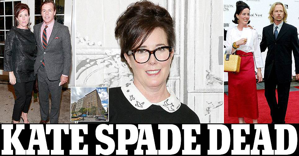 Breaking News Fashion Designer Kate Spade Dies At 55 In New York Appartment After Committing Suicide Fillgap News