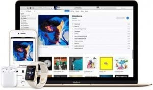 Apple Music, Bigger than, Spotify, in subscriber numbers, in U.S markets now