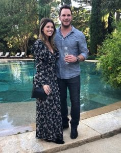 Chris Pratt, Katherine Schwarzenegger, Spotted on Date, During weekend, in Napa Valley Trip