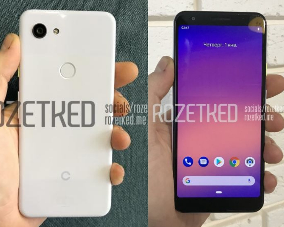 Google Pixel 3 Lite Leaked Images, Specifications & Features