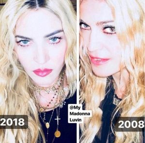 Madonna-Jennifer Lopez- Caitlyn Jenner-Kate Hudson-more-Stars-Show Off-Shocking-Transformations-#10Year Challenge-fillgapnews-featured