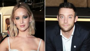 Jennifer Lawrence, Oscar-winning, actress, engaged, to art gallery director, Cooke Maroney