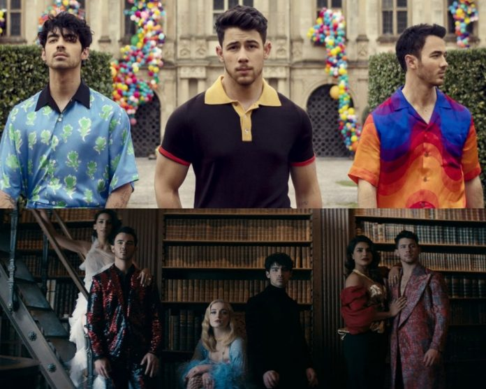 Jonas-Brothers-Release-Song-'Sucker'-Video Featuring-Priyanka-Sophie -Danielle-fillgapnews-featured
