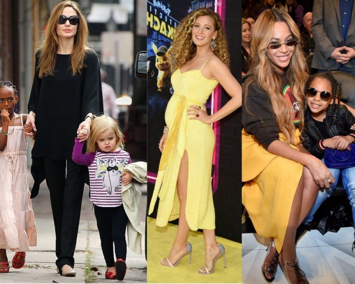 Mother's-Mother's-Day-Hollywood-moms-Angelina Jolie-Beyonce-Blake Lively-more