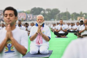 Celebrate-yoga-day-Modi-Yoga-ranchi
