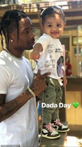 Kylie-Jenner-and-Travis-Scott-Celebrate-Father's-Day-with-Stormi