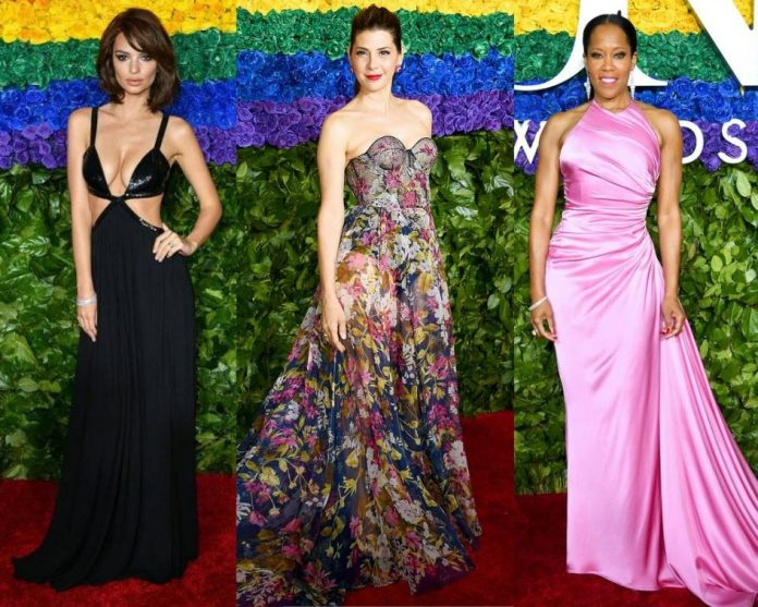 Tony-Awards-2019-Stars-at-Red-Carpet-from-Emily-Marisa-Tomei-Regina King, Lucy-Liu-and-more-See-Pics!