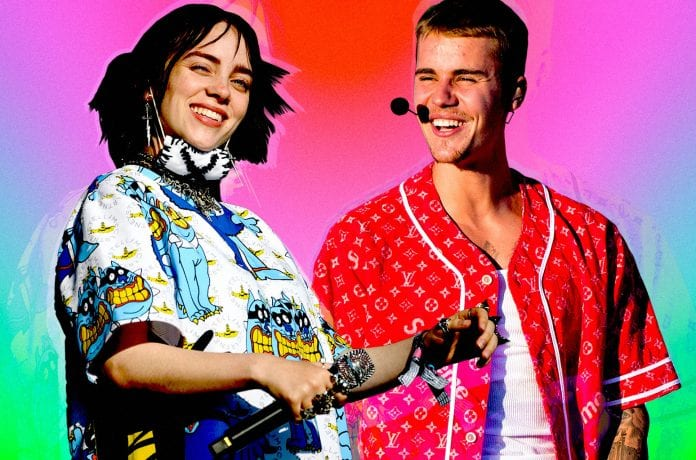 Justin-Bieber-Billie-Eilish-Collaborating-on-New-Bad-guy-Remix-Best-Songs-Of-2019
