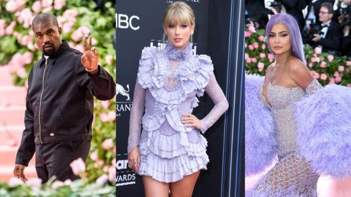 Taylor-Swift-named-Highest-Paid Celebrity in World of 2019, Beating Kylie-Jenner-And-Kanye-West