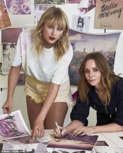 Taylor Swift, Stella McCartney, Collaboration, Release, 'Lover', Fashion, Collection