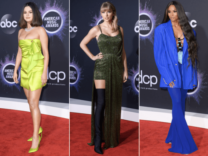 Best-dressed Celebrities at Red Carpet- Selena Gomez, Taylor Swift Ciara and More