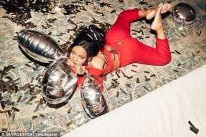 Rihanna-Shows-off-Red-Hot-Crop-Top-Separates-Fenty-X-Savage-VIP-Christmas-collection