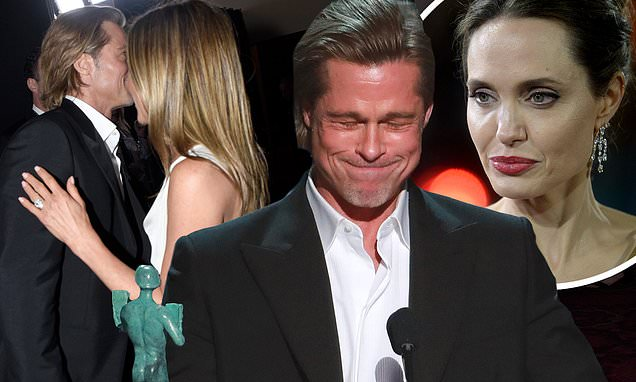 Angelina-Jolie-reacts-to-Brad-Pitt-and-Jennifer-Aniston's-reunion-at-SAG-Awards-2020