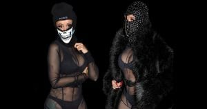 Cardi-B-Shows-off-Sheer-Bodysuit-Over-Lingerie-Paris-Fashion-Week