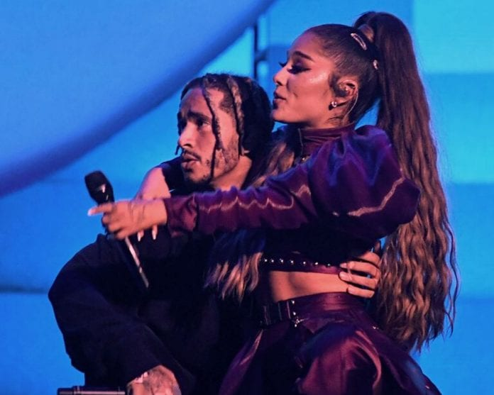 Ariana-Grande-and-Mikey Foster Rumored Boyfriend Went-to-Disneyland-Together