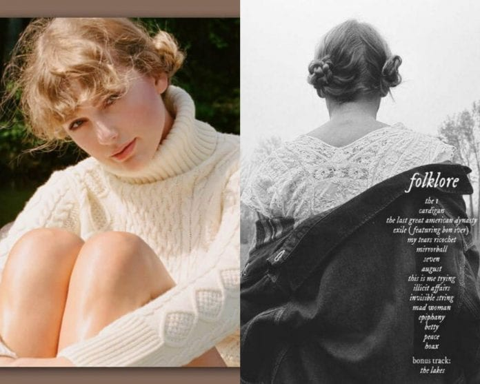 Taylor-Swift-new-album-Folklore-breaking-record-on-Spotify-8th-album-fillgapnews-featured